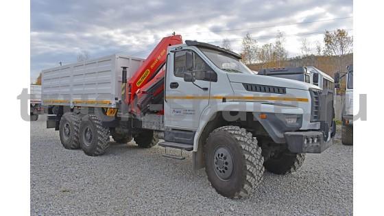 Автомобили «Урал» будут трудиться в подразделениях «Роскосмоса»