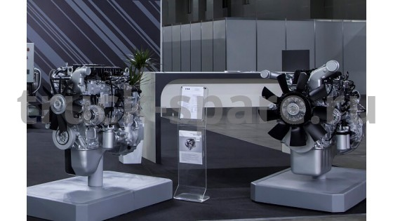 Выставка «СТТ 2017» двигатели ЯМЗ-530