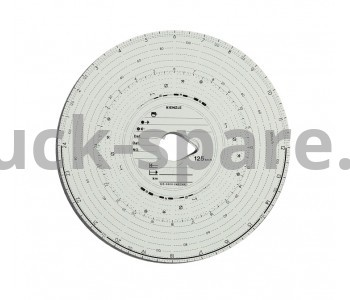 100-24EC-4K Диск тахографа бумажный Kombi 1день100km/h VDO 100-24EC-4K (упаковка 100шт) TUV Certificate BERGKRAF