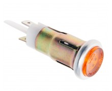 125.3803 (оранжевая 12В) Лампа контрольная 12V зеленая