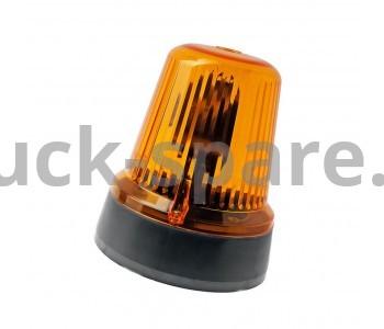 С 24-21М Маячок проблесковый 24v оранжевый (на магните)