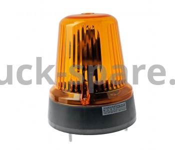 С 24-21-01 Маячок проблесковый 24v оранжевый (под болтовое соединение)