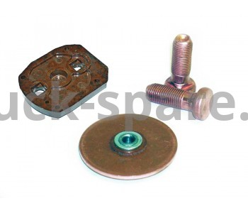 25.3708-01 Рем. комплект втягивающего реле стартера (крышка, реле, диск, 2 болта и прокладки)