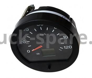 81.3802010 Спидометр электронный без датчика скорости и без жгута, КАМАЗ, ПАЗ, Прим. 24В