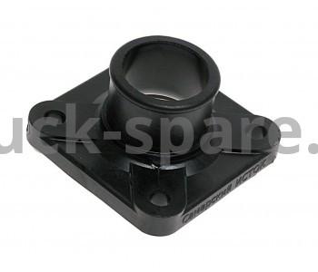 236-1306053-А Патрубок коробки термостата (крышка) (пластик).