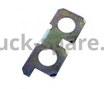 236-1005129-Б Пластина стопорная левая крепления маховика МАЗ, УРАЛ, КРАЗ