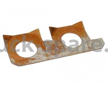 236-1005128-А Пластина стопорная правая крепления маховика МАЗ, УРАЛ, КРАЗ