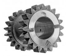 236-1701082-Б Блок шестерен заднего хода (20-20 зуб.) нового образца крупный зуб (КПП ЯМЗ-236) (Автодизель)