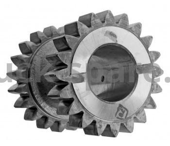 236-1701082-Б Блок шестерен заднего хода (20-20 зуб.) н/о крупный зуб (КПП ЯМЗ-236) (Автодизель)