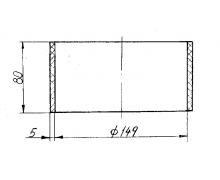 6361КХ-1109041 Муфта соединительная воздушного фильтра (дв.ЯМЗ-236НЕ2)