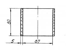 5323РХ-1109041 Муфта соединительная турбокомпрессора (дв.ЯМЗ-236НЕ2)