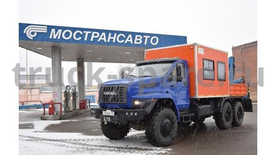 «Группа ГАЗ» передала в опытную эксплуатацию компании «Мострансавто» автомобиль «Урал NEXT» для ремонтных работ